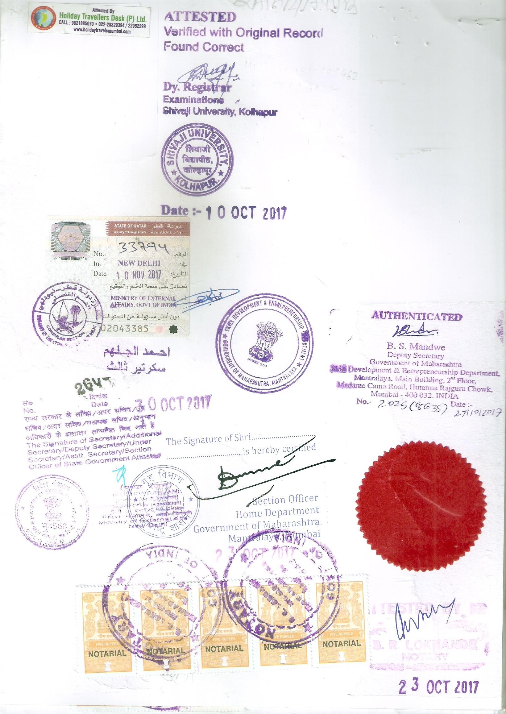 Qatar attested Copy