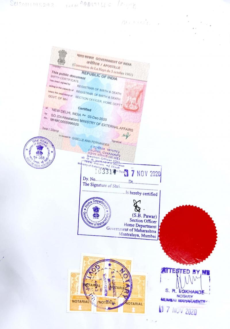 Marriage Certificate apostille in Ahmedabad